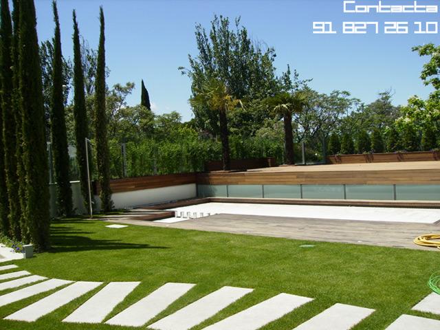 Media proyectos jardiner a y paisajismo en madrid for Paisajismo jardines fotos
